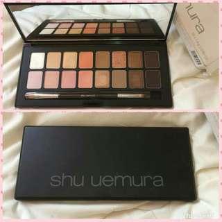 2017 Shu Uemura shu:palette ver.3 LIMITED EDITION Fresh Nudes 1.4gx16 Eye Shadow