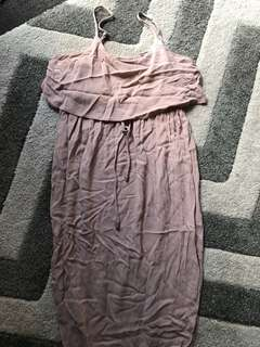 Nude dress Jean Jail