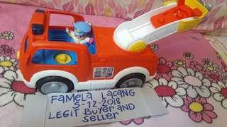 Little people fire truck