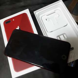 Iphone8+ Limited Red 256gb