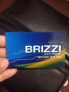 Brizzi card (Uang Elektronik BRI)