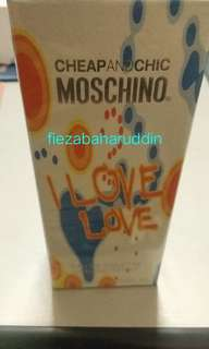 Authentic Moschino Cheap and Chic Perfume 30 ml  EDT #Mayrathon