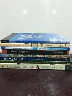 Christian Books (8 books)