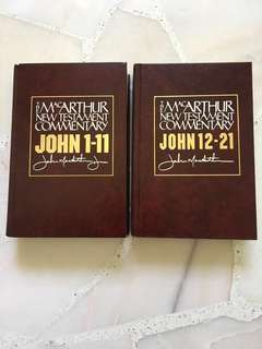 Bible Commentary: The MacArthur New Testament Commentary, 2 Volumes