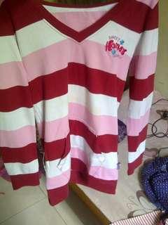 Atasan kaos panjang (semi sweater)