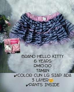 Skirt hello kitty preloved
