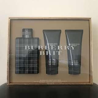BURBERRY BRIT for Men Gift Set