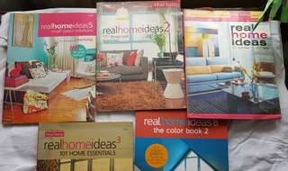 Real Home Ideas Books Collection(5pcs)