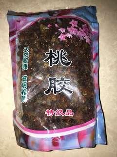 天然乾桃膠(食用過一次少份量,素食者可食)