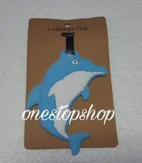 Shop : 1 pc DOLPHIN TRAVEL LUGGAGE BAG TAG