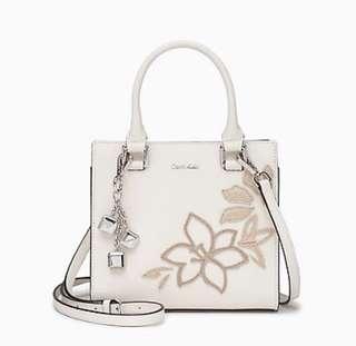 Calvin Klein Floral Crossbody Bag