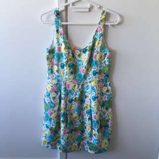 Bright spring friends of couture dress size 10