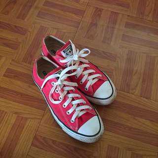 Authentic Converse (Red)