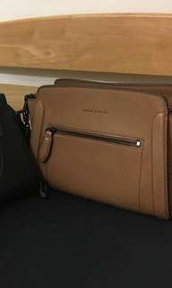 Charles and keith brown bag