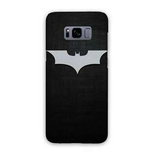 Batman Logo Samsung Galaxy S8 Plus Custom Hard Case