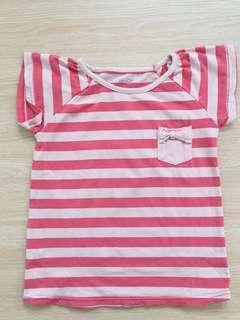 Pink Stripes Tshirt