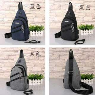 Sidebag with connector