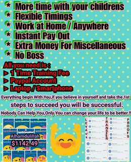 Serious People who want to earn extra income