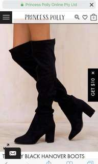 Therapy knee high boots
