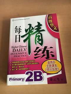 Brand new Primary 2 P2 Chinese Assessment book EPH 2B