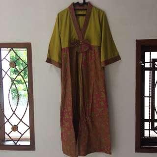 Gamis batik ala2 Korea