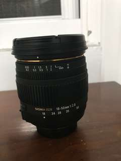 🚚 Sigma 18-50mm macro F2.8 for Nikon