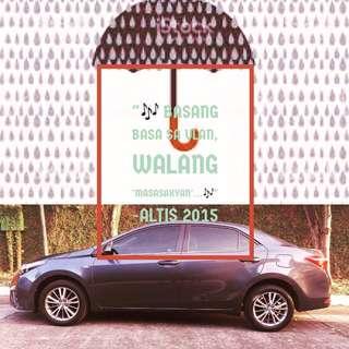 Toyota 2015 Altis 1.6G Automatic