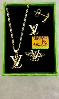 ems jewery 100% gold