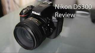 Kamera DSLR Nikon D5300 kredit cicilan 0%
