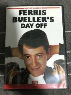 Ferris Bueller Day Off Movie DVD