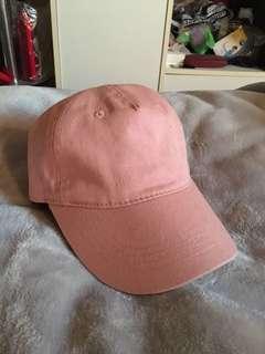 Basic Dusty Mauve Pink baseball Cap