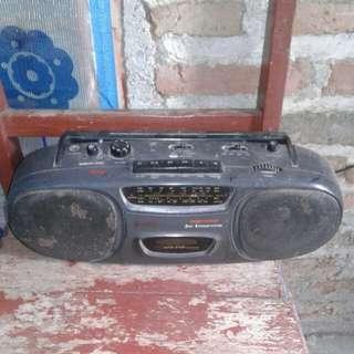 radio tape sanyo