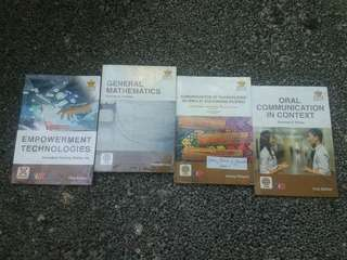 Used Senior High School (SHS) Books | Core Subject & Applied Track Subject | SOLD AS A SET
