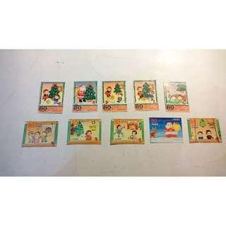 日本信銷郵票