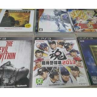 PS3遊戲光碟