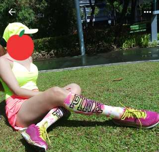 Authentic victorias secret knee socks