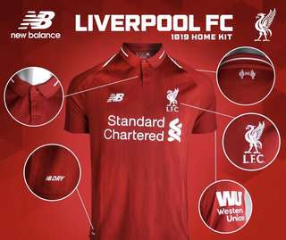 Liverpool Jersey 18/19