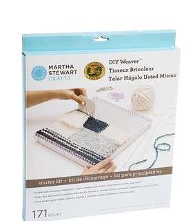 Martha Steward crafts diy weaver starter kit