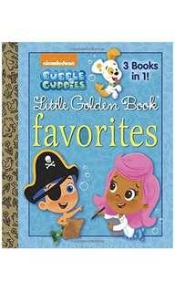 Bubble Guppies Little Golden Book Favourites