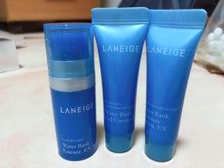 Laneige Water Bank Travel Kit