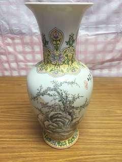 漁樂昇平🐠🐟彩瓷花瓶