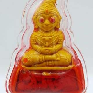 Phra Ngang Maha Ra Ruay Wish Rich and Love Success Lucky Gambling Luangta Ruam in charm oil