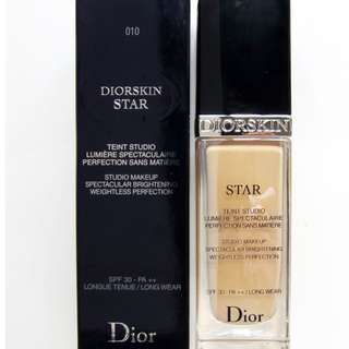 Brand New Dior Star Liquid Foundation 010 Ivory