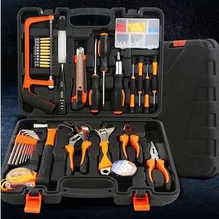 五金工具套裝 組合組套 家用手動木工工具箱 (Home Hardware Tool Kit)