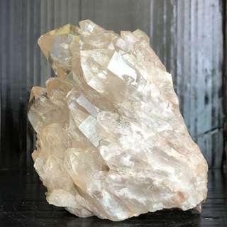 Lwena Pale Citrine Quartz Cluster 1.3kg