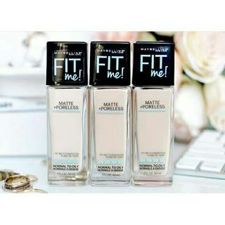 Foundation fit me maybelline