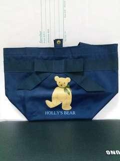holly's bear 便當袋