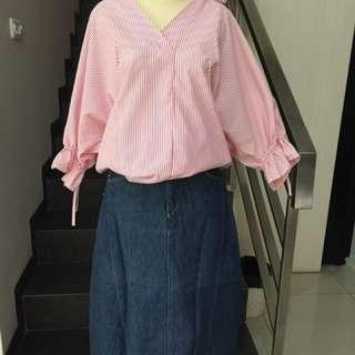 Levi's long skirt