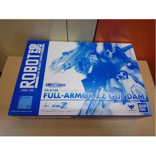 BANDAI TAMASHII 魂商店 Robot魂 SIDE MS SP FULL ARMOR ZZ GUNDAM 機動戰士 高達 Z ZETA 日版
