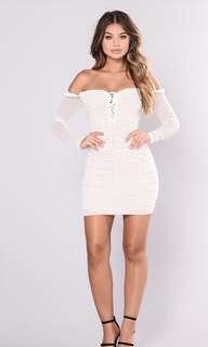 Fashion Nova Maura Mesh Dress
